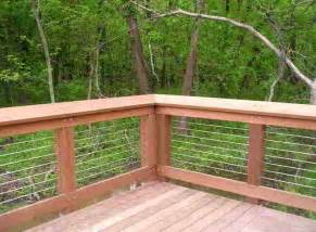 Patio Rails by Deck Patio Porch Balcony Cable Railing Modern Deck