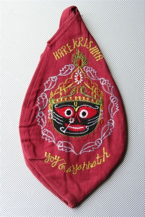japa bead bag jagannatha japa bead bag embroidered