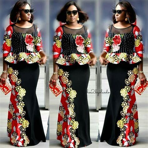 styles 4 asoebi blouse 6650 best ankara styles images on pinterest african