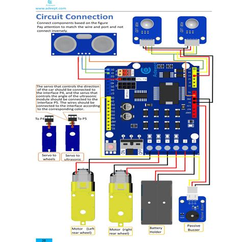 tutorial pdf arduino uno adeept remote control smart car kit for arduino based on