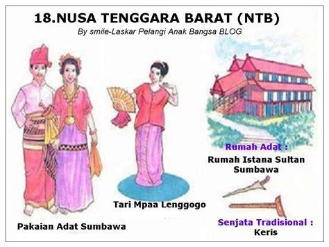 nama  provinsi  indonesia lengkap  pakaian