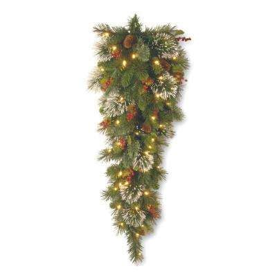 christmas swag christmas wreaths garland the home depot