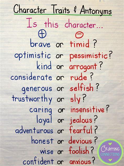 character traits characterization success character character traits anchor chart blog post includes a