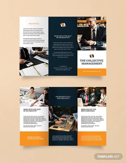 Free Blank Trifold Brochure Template Download 326 Brochures In Psd Illustrator Word Free Caign Brochure Templates