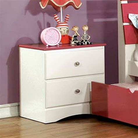 cm7626pk t transitional white pink twin platform bedroom kimmel youth bed pink kids beds kids and youth