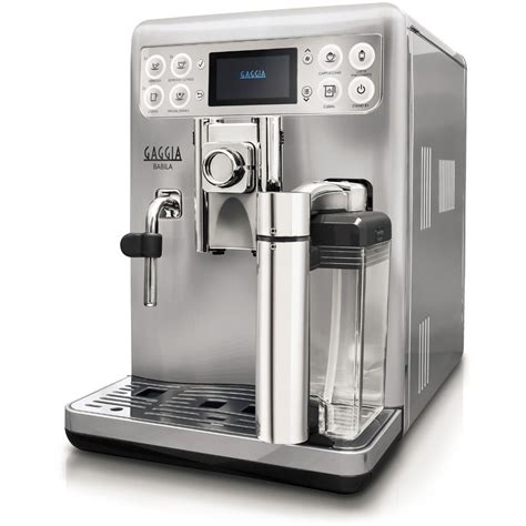 Coffee Maker Gaggia gaggia babila one touch coffee and espresso machine