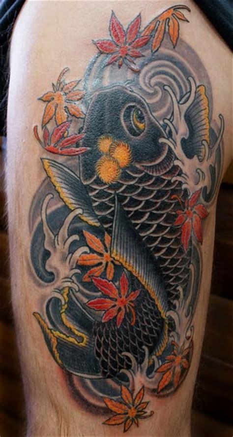 tatouage carpe koi 4 inkage