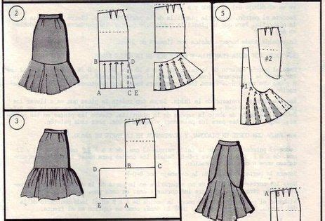 quest placement pattern modeling skirts selection simple patterns fashions