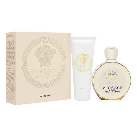 Sale Versace Eros Fragrance Bibit Parfum 120ml womens fragrance versace eros pour femme 2 set includes 3 4 oz 100ml eau de parfum