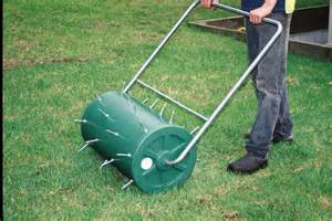 image gallery lawn aerator