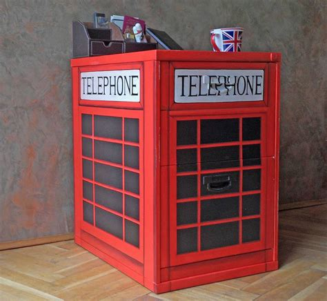 Telephone Box Cabinet by Funky Recycled Cabinets By Barnickle Furniture Fresh