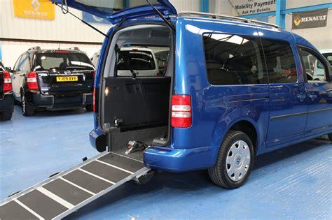 Auto Caddy by Vw Caddy Maxi Wheelchair Accessible Car Yn61 Wheelchair