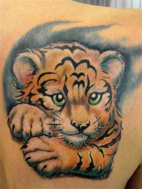 baby tiger tattoo designs 65 tiger tattoos designs ideas