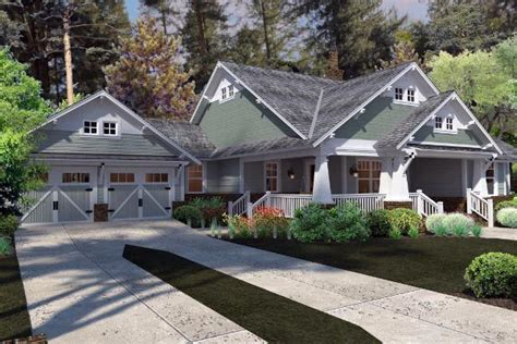 house plans 120 187 cottage craftsman farmhouse house plan 75137