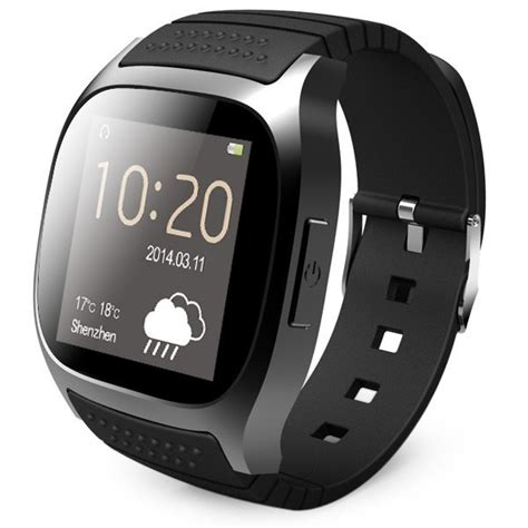 Smartwatch M26 smartwatch black rwatch m26 bluetooth smart phone for ios samsung smartphone with