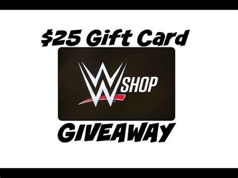 Wwe Shop Gift Card - 25 wwe shop gift card giveaway youtube