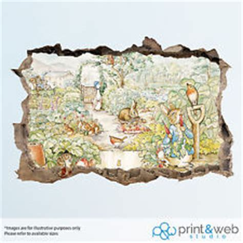 beatrix potter wall stickers beatrix potter wall stickers ebay