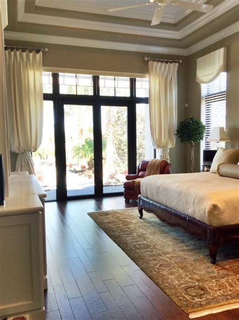 master bedroom window treatment ideas master bedroom window treatments the house i build