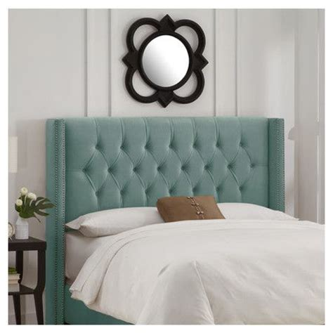 carrie upholstered headboard colors headboards and mint