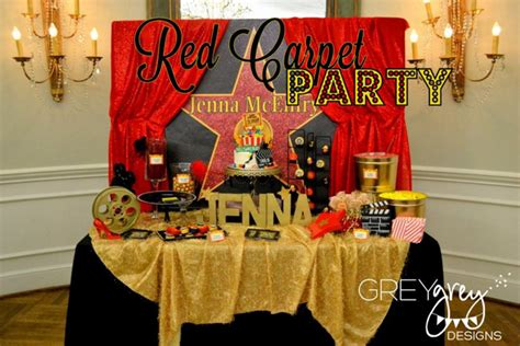 Party Themes Red Carpet | kara s party ideas red carpet planning ideas supplies idea