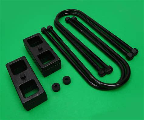 dodge ram  wd wd  blocks  bolts rear leveling lift kit ebay