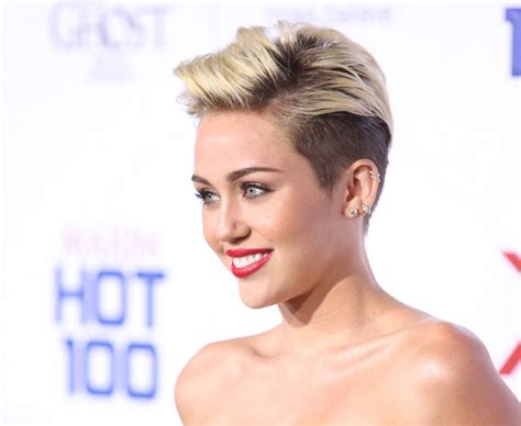what do you call miley cyrus haircut celebrities with short hair check out the top 10 celebs