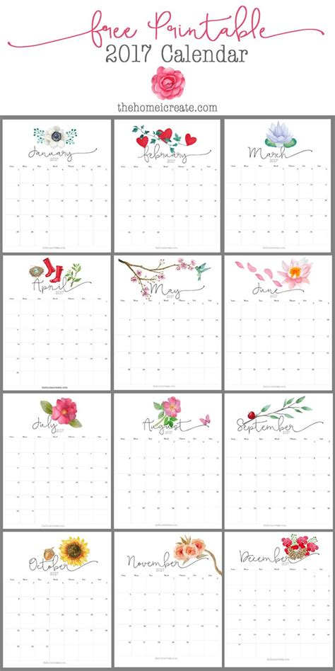pretty calendar template 25 best ideas about 2017 calendar printable on