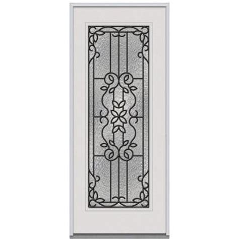 Decorative Replacement Glass For Front Door milliken mediterranean decorative glass lite primed