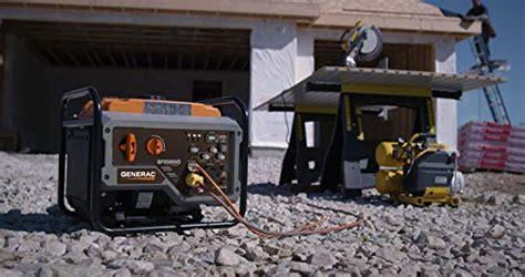 generac gpio open frame rv ready inverter generator