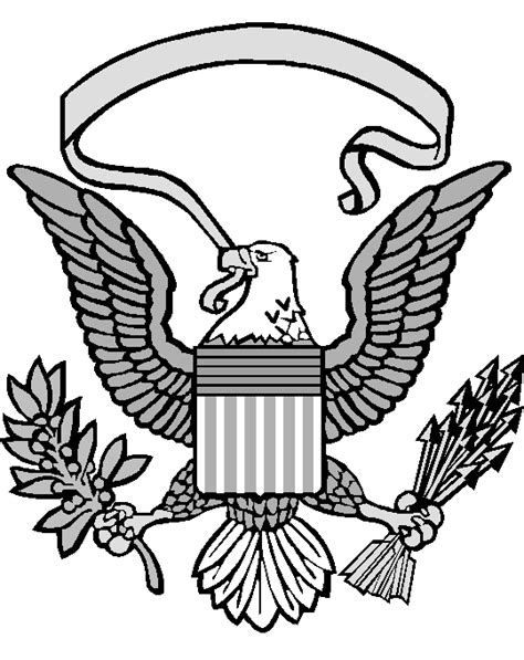united states seal coloring page merman coloring pages clipart best