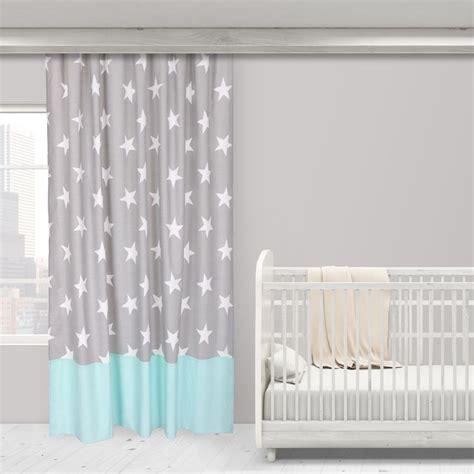 graue gardinen vorhang sterne grau kinderzimmer gardine kaufen sie