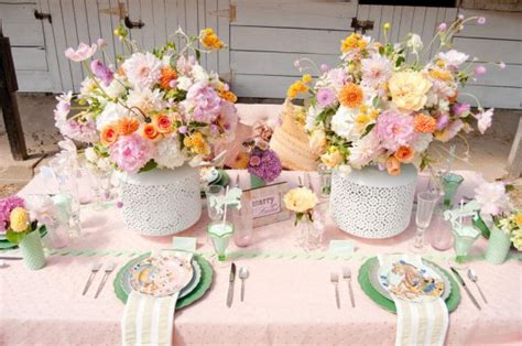 Blumengestecke Selber Machen 4336 by Centerpieces For Or Coral Tablecloths Anyone