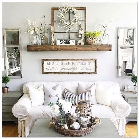 diy living room wall decorating ideas style the 99 diy farmhouse living room wall decor and design ideas 5