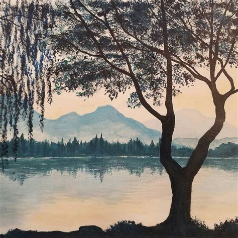 bob ross painting water reflections 25 best ideas about how to paint water on