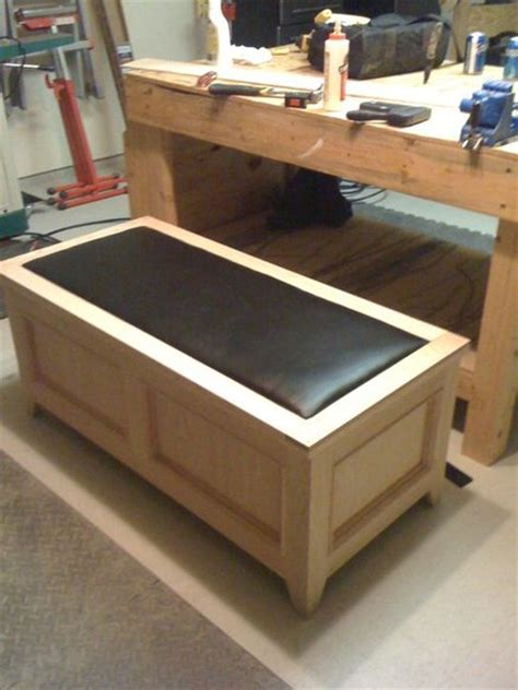 cedar lined blanket chest plans  woodworking