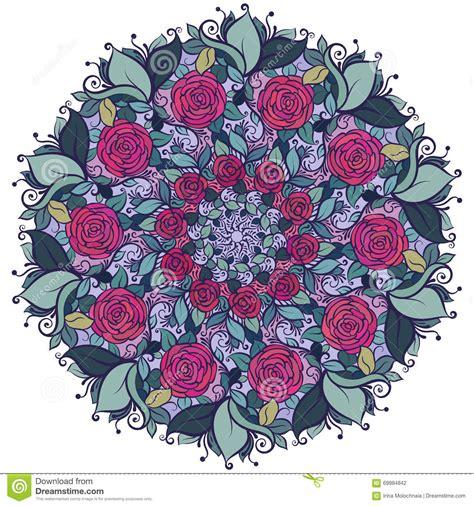 imagenes de mandalas florales estado de flores caleidosc 243 pico mandala con las rosas