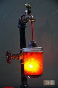 Homemade Outdoor Chandelier Steampunk Craft Inspirations How To Make A Bottle Lamp