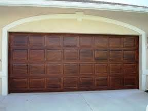 painting wood garage doors to look like quotes