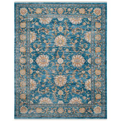 safavieh vintage turquoise multi 8 safavieh vintage turquoise multi 8 ft x 10 ft area rug vtp469k 8 the home depot
