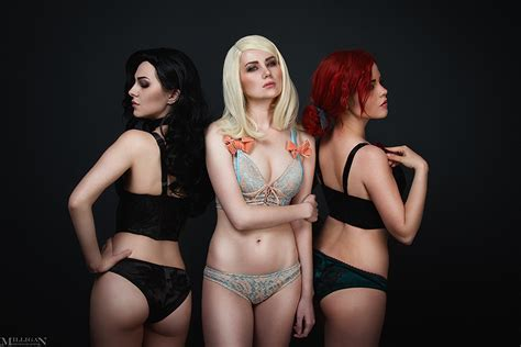 Tw Wh Lingerie Sorceresses By Milliganvick On Deviantart