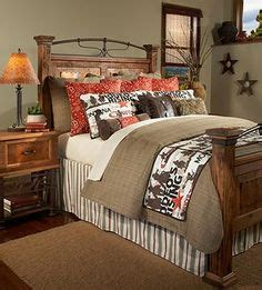 Burlap Bedding Sets Burlap Bedding On Western Bedding Country Decorating And Barn Wood Headboard