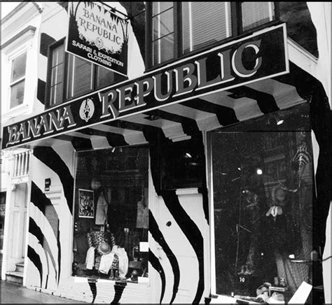 Banana Republic Original before banana republic was mainstream fashion it was a