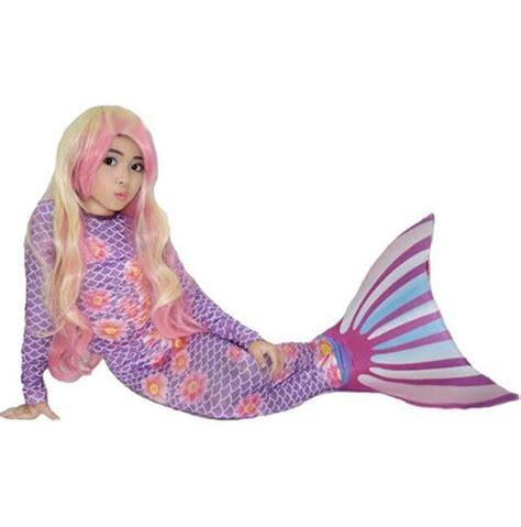 Kostum Putri Duyung Kaki Tertutup 4 6 Th Lucu Terjangkau jual beli kostum mermaid baju renang putri duyung anak