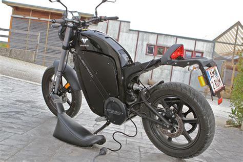 Motorrad Elektro Umbau Kit by Brammo Enertia Testbericht