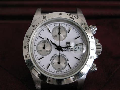 Tempo Inverso : TUDOR BY ROLEX   TUDOR Prince Date Chronograph