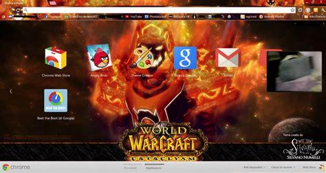 theme google chrome dragon fire mage google chrome theme by sl4eva on deviantart