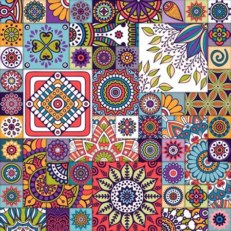 moroccan pattern free svg moroccan pattern with mandalas vector free download