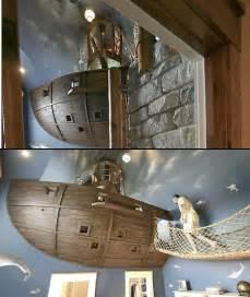 coolest bedroom world s coolest bedroom has a floating pirate ship techeblog
