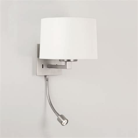 leuchten schlafzimmer astro lighting 0790 azumi led classic switched wall light