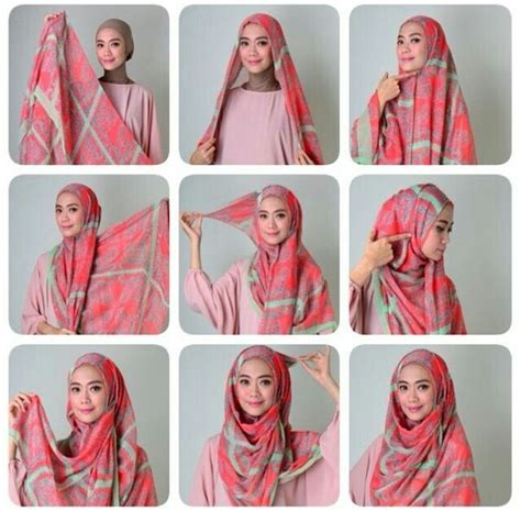 pin  sabila  hijab style tutorial hijab modern